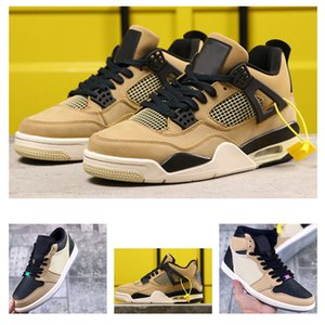 nikeairjordanretro 1 High OG 1s wheat-coloredmen's Men Basketball Shoes 4s4 WMNS mushroom outdoor sports sneakers With 7-12