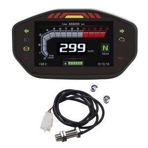 LCD 속도계 오토바이 디지털 주행 거리계 속도계 회전 속도계