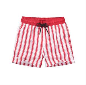 LACOSTE Uomini Beach Shorts estate del bicchierino di modo geometrico astratto modello della stampa europea e americana Large Size Pants