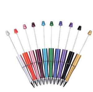 أدوات DIY رخيصة عيد الميلاد هدايا ترويجية اليدوية للأطفال لعبة أطفال فارغ إضافة إلى مطرز الخرز استبدال الكرة القلم Beadable القلم