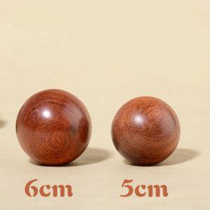 Acessório 1 Pc Mini Bola de Exercício de madeira Massagem Handball Meditação Saúde Exercício Stress Relief bolas Mão Relaxamento