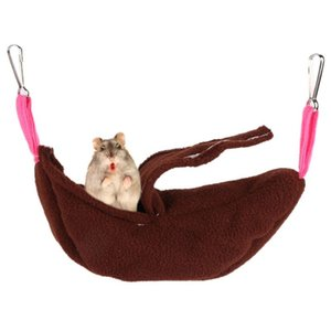 Cute Pet Hamster Hanging House Banana Shape Soft Hammock Small Pet Cotton Cage Sleeping Pet Bed Rat Cage Toy Accessories