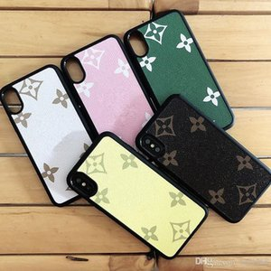 New Fashion PU Leather Designer Phone Cases for IPhone 11 Pro X XS MAX XR 12 7 8 Plus Protect Shell Cellphone Case Back Cover