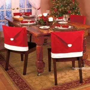 2019 the latest Christmas chair set, living room kitchen chair, red Christmas vest, spot Christmas ornaments for free shipping
