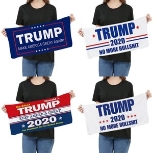Microfibra Trump toalha de rosto 35 * LJJO8211 75 centímetros eleição americana Quick Dry absorvente Sports Towel tornar a América Great Again Toalhas 20pcs