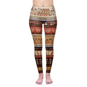 pantalones rsDc3 Zohra pantscultural serie magia egipcia pictográficos polainas de la impresión de las medias de las mujeres digitales Zohra pantalones ajustados apretado pantscul