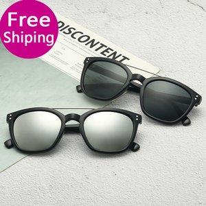 Glass lens 51MM Brand Designer Fashion Men Women Plank frame ray Coating Sunglasses ban Sport Vintage Sun glasses With box