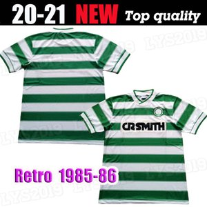 Celtic 1985 1986 rétro 85 86 football vintage maillots de football chemises McInally Johnston MacLeod archidiacre Aitken maison verte