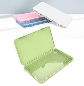 Dustproof Mask Case Portable Disposable Face Masks Container Safe Pollution-Free Disposable Mask Storage Box Storage Bins GGA3569-10