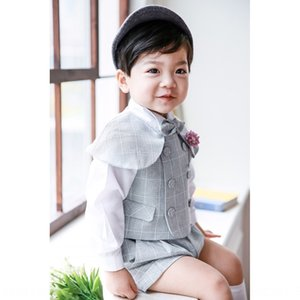vestido de los niños pinzas traje de interpretación de piano pequeño juego hermoso del bebé británica de los niños li fu para niños