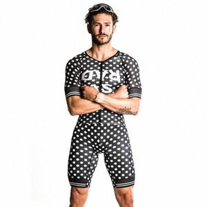 Любовь Боль 2020 Мужские Велоспорт скафандр Триатлон Speedsuit Trisuit с коротким рукавом Speedsuit Запуск Одежда WiXg #