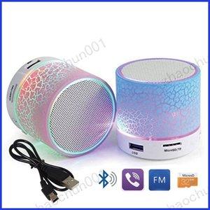 A9 무선 Bluethooth 미니 스피커 핫 판매 LED 라이트 업 스테레오 휴대용 핸즈프리 스피커 지원 USB 마이크로 SD TF 카드 저렴한 시끄러운 스피커
