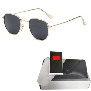 Мода металлического шестигранных очков мужчина womne горячего HD ретро круглой роскошь солнцезащитных очков Gafas очки óculos де золь 2020 новой