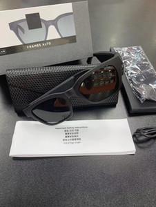 Gafas de sol inteligentes Marcos Alto Glass Smart Bluetooth Auriculares inalámbricos Auriculares Audio Gafas de sol Conectividad Bluetooth con Micrófono Música Bass