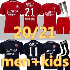 Взрослые дети 2020 2021 Twente Enschede FC Soccer Tehnys 20 21 Home Away Menig Selahi Aburjania Roemeratoe Футбольные рубашки Maillot de op