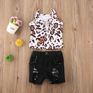 2020 Summer New Cool Kids Boys Baby Clothes Hoodie Printed T-Shirt Tops+Short Jeans Outfits