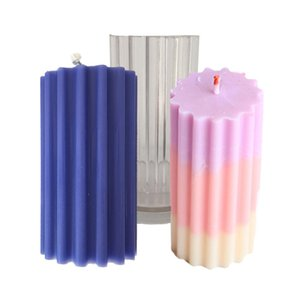 Candle Mold Silicone Mould For Candle Making DIY Gypsum Plaster Mould Clay Resin Molds Aromatherapy Candle Mold Crafts Making