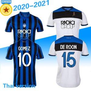 2019 20 Atalanta BC Soccer Jersey 2020 #72 ILICIC #9 L.MURIEL Football Uniform Mens #91 DUVAN MANCINI PASALIC GOMEZ Soccer Shirt