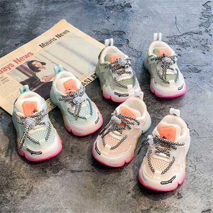 High Quality Summer Autumn Infant Girl Boy Shoes Breathable Baby Sneakers Fashion Color Matching Soft Bottom Toddler Walkers Shoes size16-26