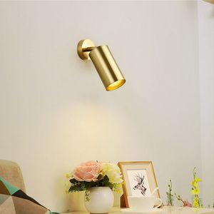 Bronze Black White Vintage Industrial Wall Sconce Lights Retro Wall Lamp 110V-220V 240V GU10 Indoor Bedroom Store Bar Aisle Lamp