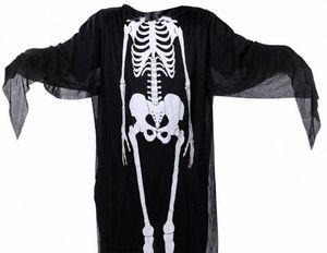Trajes de Halloween Capes Adulto Crianças Party Club Santo Cosplay Corpo Humano Estrutura impressão Costumes Homens Mulher Kids Capes Cosplay JVJx #