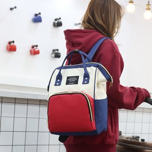 et le bébé anti-vol sac à dos sac mère femme mère de capacité multi-fonctionnelle grande des femmes enceintes sac à dos en attente