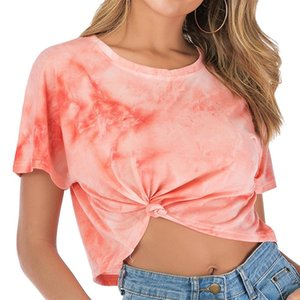Printed short-sleeved ins fashionable women's 2020 short T-shirt women's loose T-shirt underpants all-match top