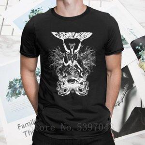 Hipster Electric Wizard Baphomet T-Shirt für Männer Kleidung reine Rundkragen T-Shirt Wizard Cotton Tees kurze Ärmel Plus Size