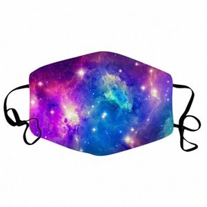 5pcs Boca unisex 2020 de algodón transpirable cara Maks reutilizable Dustpoor impresión del paño de la boca Maskking cara Mascarillas Bandana z1yz #