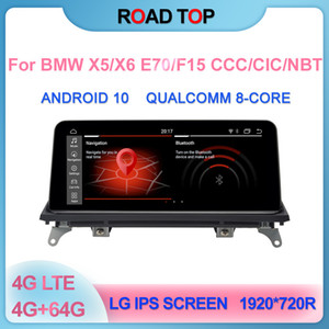 """10.25"""" Android 10 Screen for BMW X5 X6 Car E70 E71 F15 CCC CIC NBT 2007-2016 With Multimedia Player Stereo Display GPS Navigation"""