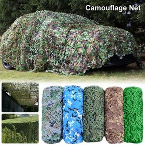 Camouflage Chasse net Camo Netting Formation Camo Netting 2x3 / 3x5m 4x6m voiture Abri Camping Sun Couvre Tente ombre RlHN #