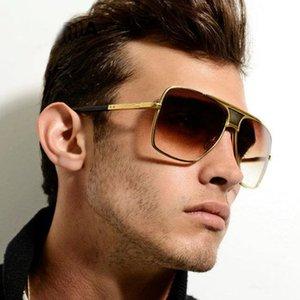 SHAUNA Vintage Men Square Sunglasses Women Brand Designer Fashion Women Golden Alloy Frame Sun Glasses UV400