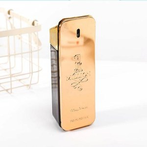 Hot perfume! Gold Million perfume man 100ml and 80ml for women with long lasting time Million Spary perfume