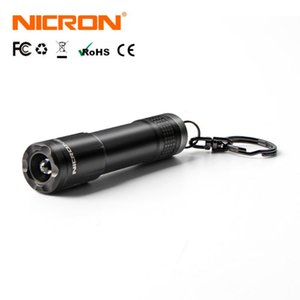 NICRON Micro Mini Outdoor 20LM 24M 1xAAA Battery 10Hours Key Chain Light Lamp Waterproof IPX4 For Home LED Torch N1