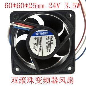 Germania Ovest ebmpapst raffreddamento 6cm6025 doppia sfera ventilatore 624 2 HH controllo inverter industriali