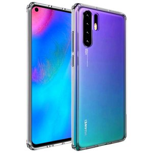 For Huawei P30 Pro Case P30Pro Crystal Hybrid Bumper Clear Hard Acrylic Phone Case For Huawei P30 LiTE Case P 30 Pro Cover 6.47
