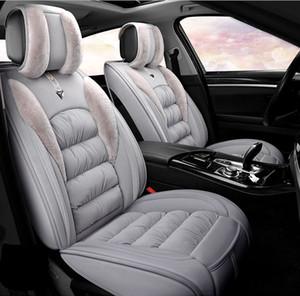 SUV için Toyota Honda Mazada Benz için beş Koltuk Sedan Kalite Sıcak Kaşmir beş Koltuklar İçin Evrensel Fit Oto İç Aksesuar Klozet Kapakları