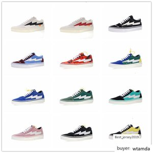 Hot Designer Revenge x Storm Pop-up Store 2 3 Champion Sk8 Hi Casual Canvas Shoes Old Skool Women Mens Chaussures Fashion Sneakers Size35-44