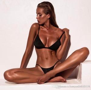 2020 New High Waist Bikini Swimwear Women Swimsuit Push Up Bikinis Women Bathing Suit Biquini Ruffle Bikini Summer Beach Wear 150