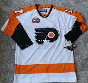 Cheap personalizzato Jeff Carter Philadelphia Flyers 2010 INVERNO CLASSIC JERSEY Mens personalizzati maglie cucitura