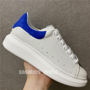 2020 أعلى جودة المخملية الأسود رجل إمرأة Chaussures حذاء جميل منصة احذية عادية أحذية جلدية الألوان الصلبة اللباس حذاء مع صندوق