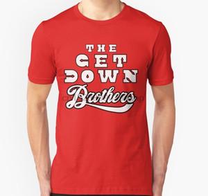 Men tshirt Netflix The Get Down Brothers DJ Battle Jacket T Shirt T Shirt women T-Shirt tees top