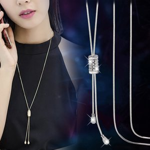 Delicate Tassel Long Necklaces & Pendants For Women Fashion Jewelry Simple Necklace Sweater Dress Accessories All Match