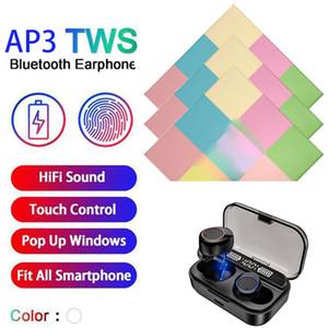 Inpods 13 Wireless TWS сотовый телефон Bluetooth наушники арии Pro 3 Спорт In-Ear Headphones Sweatproof оптом Свободная перевозка груза
