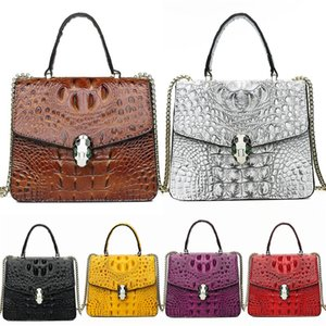 European And American Fashion New Style, Retro Style Trend With Chain, Lock Single Shoulder Cross Body Small Square Bag#418