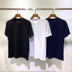 Yüksek kaliteli pamuk çift kısa kollu t gömlek ölçüsü M-2XL baskı gömlek yaz aydınlık harfi t Moda erkekler