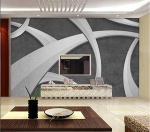 사용자 정의 3D는 거실 다공성 콘크리트 시멘트 벽의 질감 라임 방수 벽화 벽지 홈 장식을 배경 화면