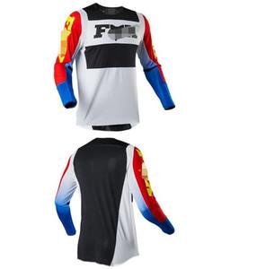 2020 novo fox quente downhill terno motociclismo off-road roupas Jersey manga comprida roupa de secagem rápida / wicking respirável