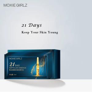 3ml X 21pcs Ampoules Essence Natural Health Tender Essence Shrink Pores Serum Repair dry skin Clean Wholesale lot