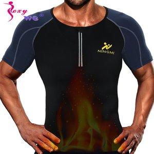 Yelek Neopren Sauna Kayış Mesh Shapewear Tank Top Running ceketi SEXYWG Spor Popüler Gym Yoga Gömlek Erkek Vücut Şekillendirici Bel Trainer